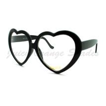 Heart Shape Eyeglasses Cute Oversized Love Clear Lens Fashion Glasses - $8.95