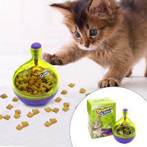 Cats Food Ball Interactive IQ Treat Pet Toy Dispenser - $8.89