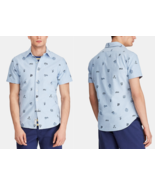 $110  Polo Ralph Lauren Men's Classic-Fit Print Oxford Shirt, Blue, L - $65.33