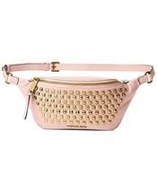 MICHAEL Michael Kors Rhea Zip PYR Stud Belt Bag (Blossom) - $193.99