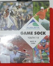 Augusta Sportswear Style 6021 Youth 7 To 9 Red Game Sock image 2