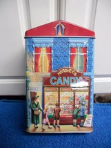 HERSHEYS VILLAGE SERIES CANISTER #1 CANDY STORE... - $10.36