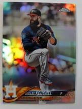 2018 Topps Chrome #166 Dallas Keuchel Houston Astros Refractor Baseball ... - $3.00
