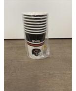 8 NOS VTG Helmet Logo Chicago Bears Paper Beverage Cups NFL Football Da ... - $8.00