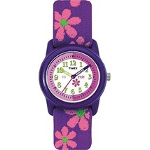 Timex Girls T89022 Quartz Flowers Watch with Multicolour Dial Analogue D... - $26.00