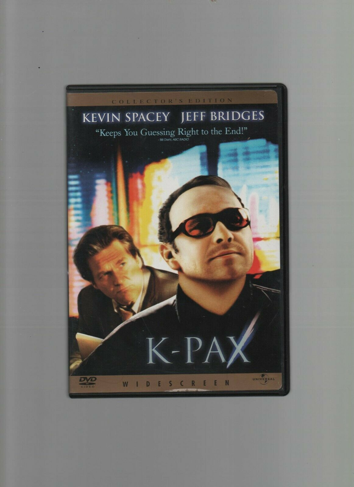 Primary image for K-Pax - Widescreen - Kevin Spacey, Jeff Bridges - DVD 21553 - Universal Pictures