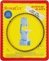 "SuperCut B136H12T3 Hawc Pro Resaw Bandsaw Blade, 136"" Long - 1/2"" Width; 3 Tooth - $23.31"