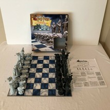 Mattel Harry Potter Wizard Chess Set Complete With Instructions Board Game 2002 - $29.99