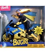 Barbie Doll - Barbie as Batgirl on Batgirl motorcycle  - $211.95