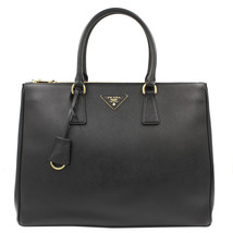 PRADA Saffiano Lux Galleria Black Leather Ladies Tote 1BA786NZV - $1,799.00