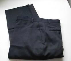 King Size Big Mens Pants Navy Blue  Flat Front  not hemmed  Size 44   50... - $19.85