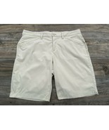 Eddie Bauer Shorts Womens 12 Beige Lightweight Hiking Trek Stretch Nylon... - $15.82