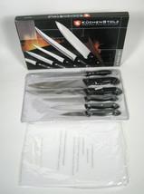 Kuchenstolz 6 Piece German Knife Set Precision Crafted Cutlery Cutting B... - $24.75