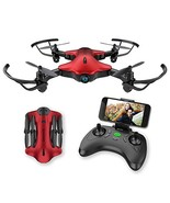 Drone for Kids, Spacekey FPV Wi-Fi Drone with Camera 720P HD, Real-time ... - $60.08