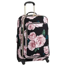 "NEW Pottery Barn Teen Emily Meritt Floral Roses Spinner Luggage 28"" - $178.15"
