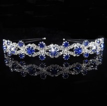AINAMEISI Princess Tiara Bridal Prom Crown Girl Elegant Hairbands Pearl ... - £5.93 GBP