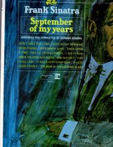 Frank Sinatra - September Of My Years (LP Record) - $9.95