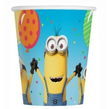 Despicable Me 3 Paper 9 oz Beverage Cups 8 Per Package Birthday Supplies New - $2.92