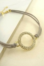 Women Fashion Jewelry Retro Vintage 90's Circle Pendant Choker Necklace ... - $22.95