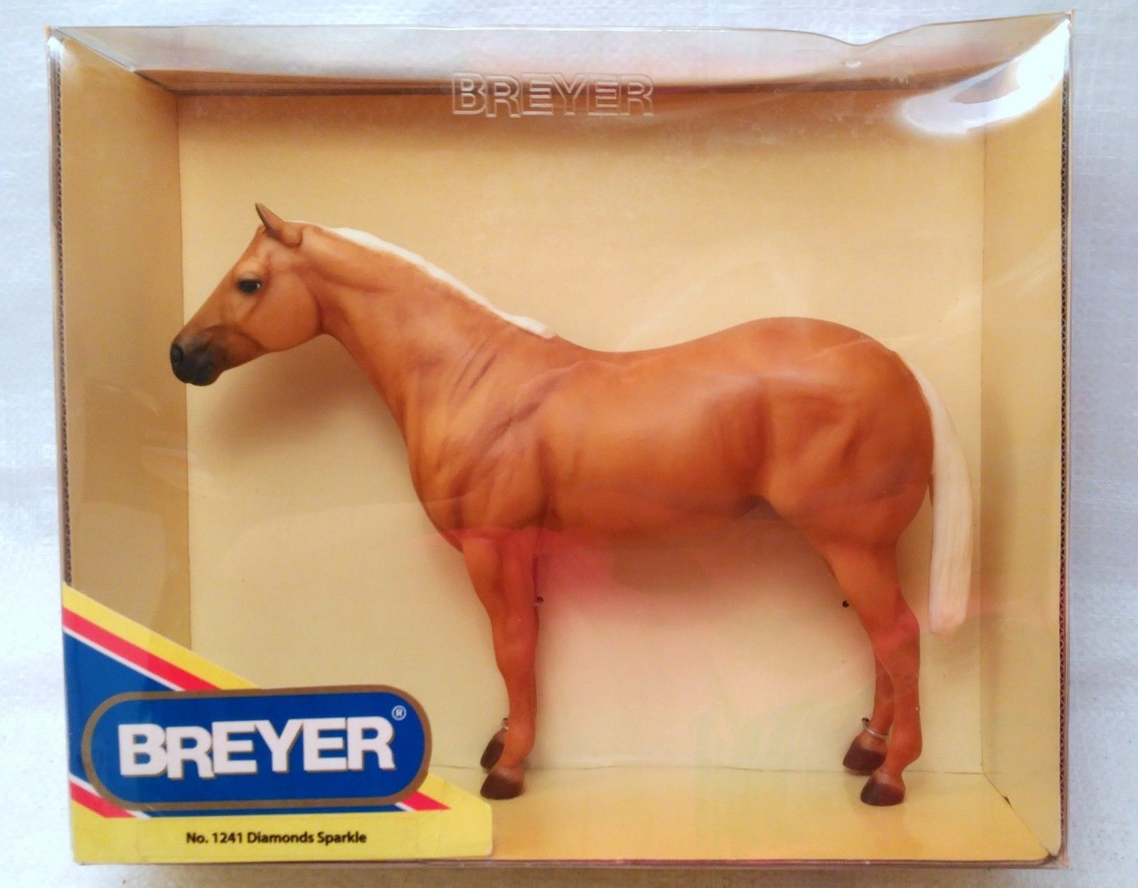 Breyer No. 1241 Diamonds Sparkle Palomino Mare in Original Box