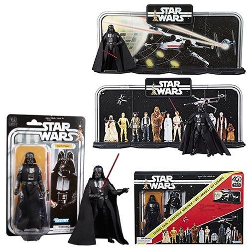 Image 1 of Star Wars Black Series 40th Anniversary Diorama w/Darth Vader 6