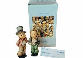 Goebel MI Hummel figurine Germany box nib coa signed vtg 890 Duet 130 ca... - $64.35