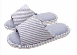 (Made By Cotton) Skidproof The Simple Style Of Home Slippers(Blue)