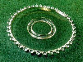 """Vintage Candlewick 5 1/2"""" Saucer, Imperial Glass, Plate, Pin Dish, Candle Holder - $12.69"""