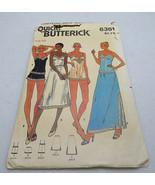 Vintage Butterick Pattern 6361 Camisole Bodysuit Slip Shorts Size 10 - $8.00