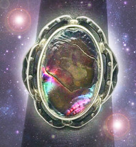HAUNTED ANTIQUE RING RETURNING CIRCLE OF LIGHT EXTREME MAGICK MYSTICAL TREASURE - $337.77
