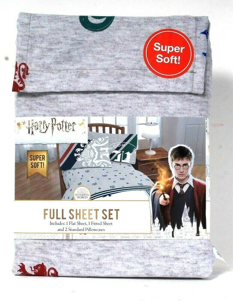 Primary image for Jay Franco & Sons Harry Potter Super Soft 100% Polyester Full Sheet Set