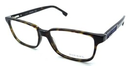 Diesel Rx Eyeglasses Frames DL5173 052 55-16-145 Dark Havana / Blue Denim - $50.96