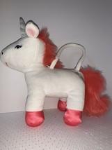 Gymboree Enchanted Winter Unicorn Plush Purse Toy Girls Toddler - $14.99