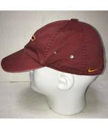 Virginia Tech Mens Hat Adjustable Baseball Cap Nike Team Hokies VT Logo - £13.36 GBP