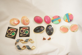 10 Pairs Of Vintage Earrings C012 - $20.00