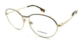Burberry Rx Eyeglasses Frames BE 1337 1296 53-17-140 Beige / Gold Made in Italy - $176.40