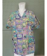 "Peaches Uniforms Vet Tech Pediatrician Nurse Vet Animal Hospital 42"" Chest - £8.46 GBP"