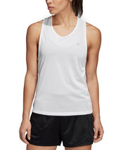 adidas Tennis Club Tie-Back Tank Top (White, XS) - $28.69