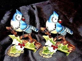 Bird Figurines  AA18-1233 Vintage Pair