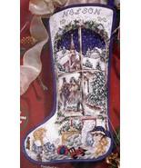 Janlynn Holiday Dreams Victorian Christmas Cross Stitch Stocking Kit 80-... - $156.95