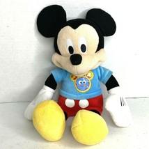 "Disney Mickey Mouse Mouseketool Plush Doll 12"" - $6.80"