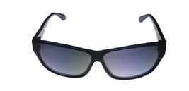 Kenneth Cole New York Mens Sunglass Soft Square Black, Smoke Lens KC7034 1B image 2