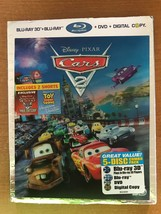 Cars 2 (Five-Disc Combo: Blu-ray 3D / Blu-ray / DVD  New - $26.39