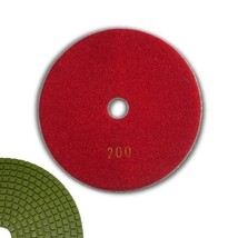 "6"" Grit 200, WET Use, Diamond Polishing Pad, For Granite Stone Marble Onyx Stone - $13.86"