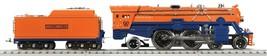 Lionel MTH Standard Gauge Tinplate Orange & Blue 392E Steam Engine PS3 1... - $749.99