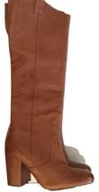 Sam Edelman Women's Tucker Tan Leather Knee-Hi Boots Shoes Sz 6.5 M - #54 - $81.17