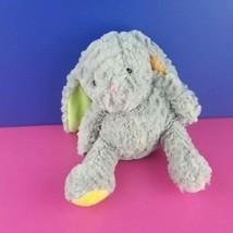 "Animal Adventure Gray Plush Bunny Pastel Lop Ears Feet Rabbit 8"" 2016 #A25 - $13.85"