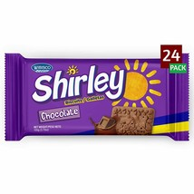 Shirley Chocolate Biscuits, 3.7 Ounce (Pack of 24) - $22.76