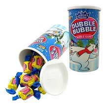 Dubble Bubble Gum Candy Coin Bank, 5 Inch, Pack of 2 - $7.18