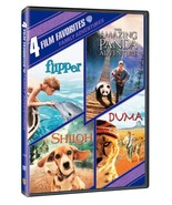 4 Film Favorites: Family Adventures The Amazing Panda Adventure, Duma, F... - $36.41